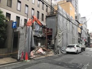 【施工実績】大阪市中央区南船場 施工中2